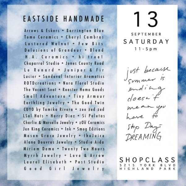 eastside handmade 2014