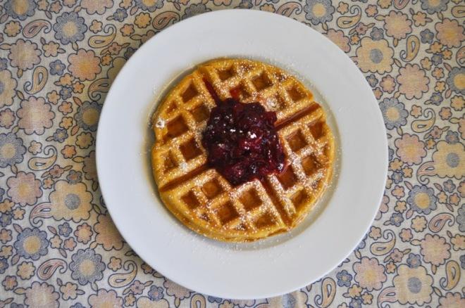 sweet potato waffle