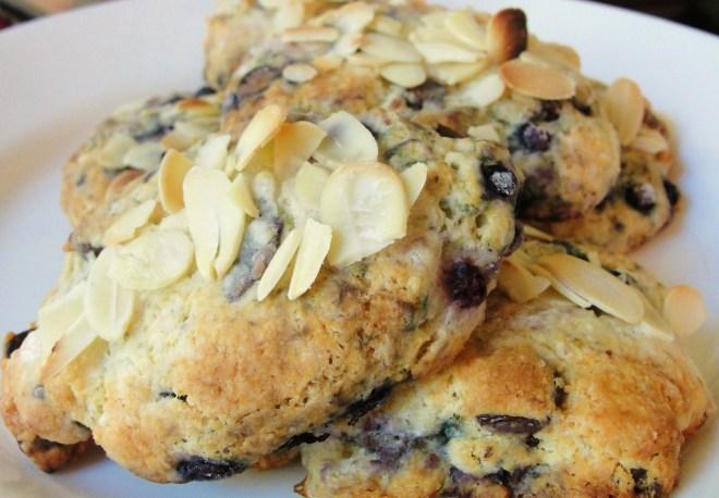 Blueberry-Almond Scones – Laurel Elisabeth