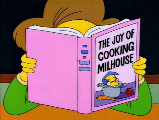 joy of cooking milhouse SG